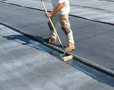 EPDM dakbedekking aanbrengen