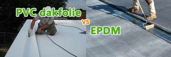 Verschil tussen PVC en EPDM