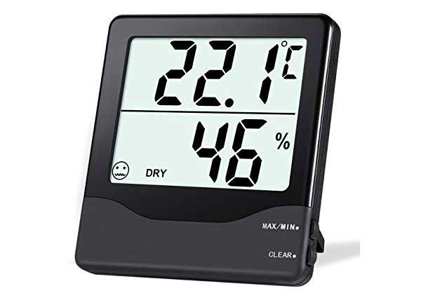 Hygrometer voor een goede vochtbalans in huis