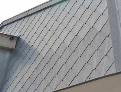 Losange zinken dakbedekking